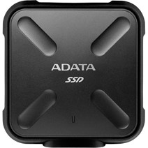 "SSD Extern ADATA SD700, 2.5"", 1TB, USB 3.1, 440 MB/s, Dust/Water proof, Military-grade shockproof, Portable-slim and sporty design, Negru"