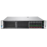 "Server HP ProLiant DL380 Gen9 Intel Xeon E5-2620 v3, Haswell, 1x16GB, DDR4, HDD 3x300GB, SAS, 2.5"", 2x500W PSU"