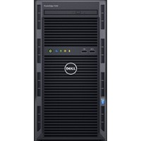 Server Tower DELL PowerEdge T130, Intel Xeon E3-1220 v5 3.0GHz, 4GB UDIMM, 1TB Hard Drive
