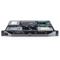 Server Dell PowerEdge R220, Procesor Intel Xeon E3-1220 v3 3.1GHz, 1x 8GB, fara HDD, PERC S110