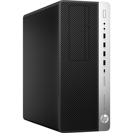 Sistem Desktop HP EliteDesk 800 G3 Tower, Intel Core i5-7500, RAM 8GB DDR4, SSD 256GB + HDD 500GB, Microsoft Windows 10 Pro