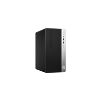 Sistem Desktop HP ProDesk 400 G4 Microtower, Intel Core i3-7100, RAM 4GB DDR4, HDD 500GB, Microsoft Windows 10 Pro 64-bit