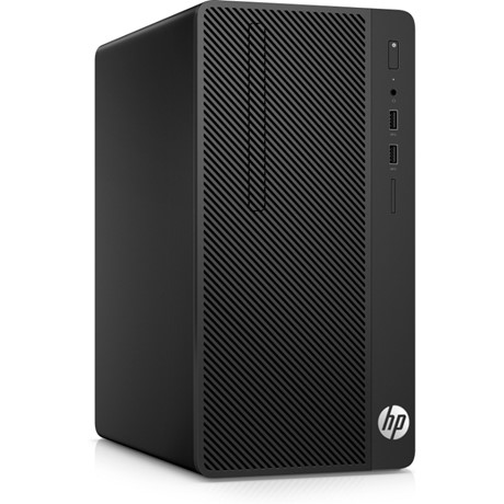 Sistem Desktop HP 290 G1 Microtower, Intel Pentium G4560, RAM 4GB DDR4, HDD 500GB, Free Dos