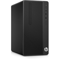 Sistem Desktop HP 290 G1 Microtower, Intel Celeron 3900, RAM 4GB DDR4, HDD 1TB, Free Dos