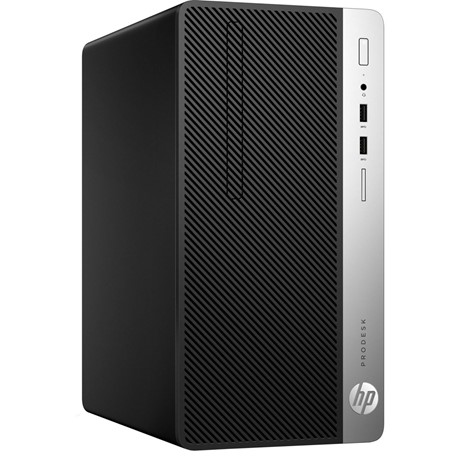 Sistem Desktop HP ProDesk  400 G6 Microtower, Intel Core i7-9700, AMD Radeon R7 430 2GB GDDR5, RAM 8GB, SSD 256GB, DVD+/-RW, Windows 10 Pro 64-bit