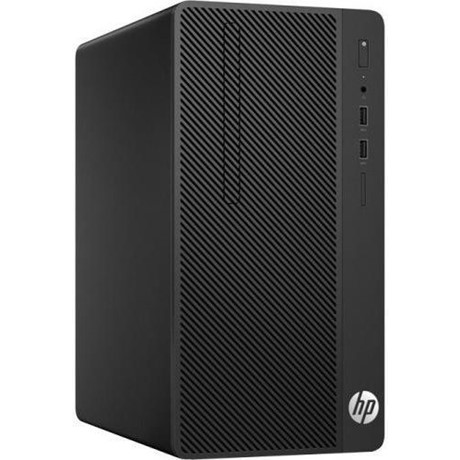 Sistem Desktop HP 290 G3 Microtower, Intel Core i3-9100, RAM 8GB, SSD 256GB, DVD+/-RW, FreeDOS