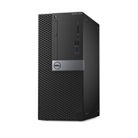 Sistem Desktop Dell OptiPlex 7050 MT, Intel Core i7-7700, AMD Radeon R7 450 4GB, RAM 8GB DDR4, HDD 1TB, Windows 10 Pro (64bit) English