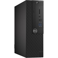 Sistem Desktop Dell OptiPlex 3050 SFF, Intel Core i3-7100, RAM 4GB DDR4, SSD 128GB, Ubuntu Linux 16.04
