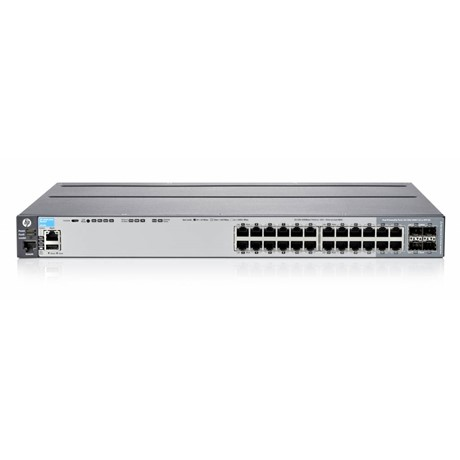 Switch HP 2920 20 Gigabit, 4 Gigabit dual-personality, 1 port RJ-45/USBmicroB dual-personality, 1 OOB management, L3 Managed