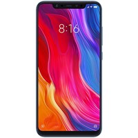 Telefon mobil Xiaomi Mi 8 Blue, RAM 6Gb, Stocare 128GB