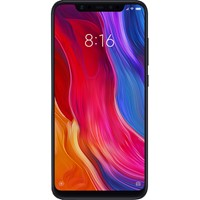Telefon mobil Xiaomi Mi 8 Black, RAM 6Gb, Stocare 128GB