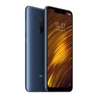 Telefon mobil Xiaomi POCOPHONE F1 64GB Steel Blue, RAM 6GB, Stocare 64GB