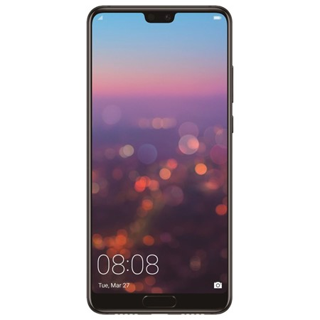 Telefon mobil Huawei P20 Dual Sim LTE, 5.84'', RAM 4GB, Stocare 128GB, Camera 12MP+20MP/24MP, Black
