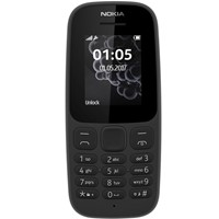 Telefon mobil Nokia 105 Single SIM 2017 Black