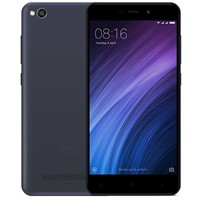"Telefon mobil Xiaomi Redmi 4A Dual Sim  LTE, Grey, 5,0"", RAM 2GB, Stocare 16GB, Camera 5MP/13MP"