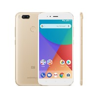 "Telefon mobil Xiaomi Mi A1 Dual Sim 5.5"" LTE , Gold, RAM 4GB, Stocare 32GB, Camera 5MP/12MP"