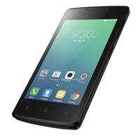 Telefon mobil Lenovo Vibe A Dual Sim, 3G, 4'', RAM 512MB, Stocare 4GB, Camera 0.3MP/5MP, Black