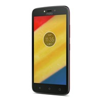 Telefon mobil Motorola Moto C Dual Sim, 5'', 4G, Ram 1GB, Stocare 8GB, Camera 2MP/5MP, Red