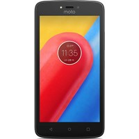 Telefon mobil Motorola Moto C Dual Sim, 5'', 4G, Ram 1GB, Stocare 8GB, Camera 2MP/5MP, Black