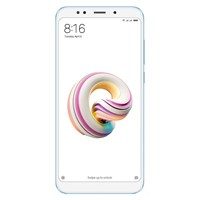 "Telefon mobil Xiaomi Redmi 5 Plus Dual Sim LTE, Blue, 5.99"", RAM 4GB, Stocare 64GB, Camera 5MP/12MP"