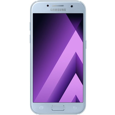 Telefon mobil Samsung Galaxy A3 (2017) 4G, Blue, 4.7'', RAM 2GB, Stocare 16GB, Camera 8MP/13MP