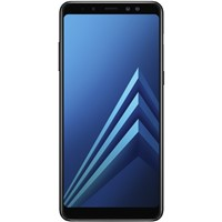 Telefon mobil Samsung Galaxy A8 (2018) Dual Sim 5.6'', Black, 4G, Camera 16MP+8MP/16MP
