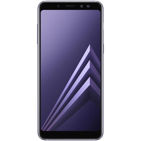 Telefon mobil Samsung Galaxy A8 (2018) Dual Sim 5.6'', Violet,  4G, RAM 4GB, Stocare 32GB, Camera 16MP+8MP/16MP