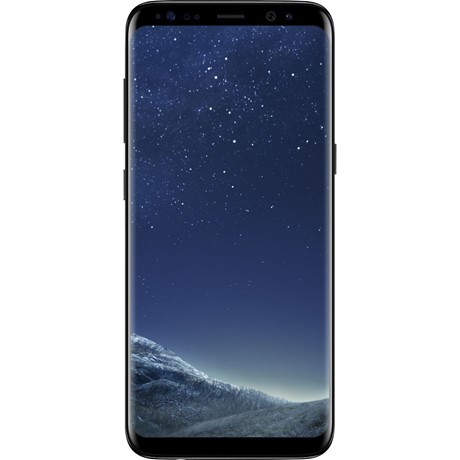 Telefon mobil Samsung G955F Galaxy S8 PLUS, Black, 4G, RAM 4GB, Stocare 64GB