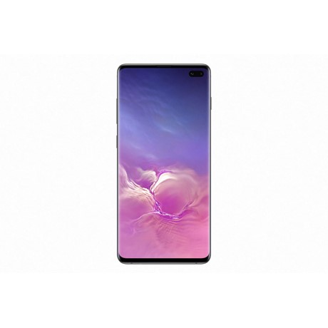 Telefon mobil Samsung G975 Galaxy S10 Plus Dual Sim, Ceramic Black, RAM 8GB, Stocare 512GB