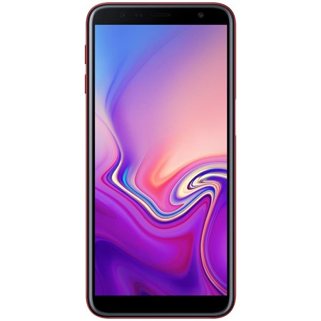 "Telefon mobil Samsung Galaxy J6 Plus (2018) Dual Sim Red, 6.0"", RAM 3GB, Stocare 32GB"