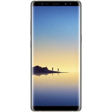Telefon mobil Samsung Galaxy N950 Note 8 Dual Sim 4G, Maple Gold, 6.3'', RAM 6GB, Memorie 64GB, Camera 8MP/12MP