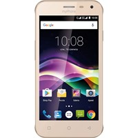 "Telefon mobil MyPhone Fun5 Dual Sim 3G, 5"", RAM 1GB, Stocare 8GB, Camera 5MP, Gold"