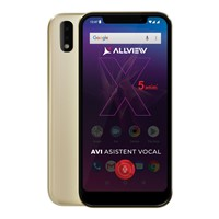 Telefon mobil Allview Soul X5 Mini Dual SIM, Gold, RAM 2GB, Stocare 16GB