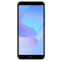 Telefon mobil Huawei Y6 2018 Dual Sim LTE, 5.7'', RAM 2GB, Stocare 16GB, Camera 5MP/13MP, Black