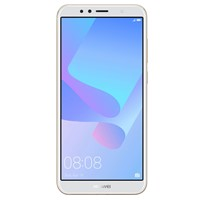 Telefon mobil Huawei Y6 2018 Dual Sim LTE, 5.7'', RAM 2GB, Stocare 16GB, Camera 5MP/13MP, Gold