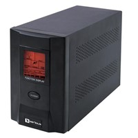 UPS Serioux ProtectIT 1200S, 1200VA, LCD screen, black