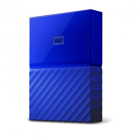 HDD Extern WD My Passport, 2TB, 2,5 USB 3.0, Albastru