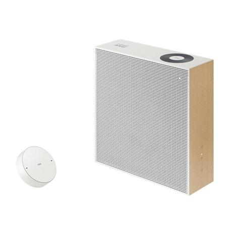 Boxa Wireleess Samsung VL351, 2 canale stereo, Moving Dial Control, Alb