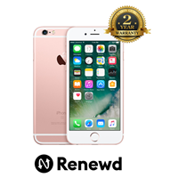 Telefon mobil Renewd Apple iPhone 6S 64GB Rose Gold