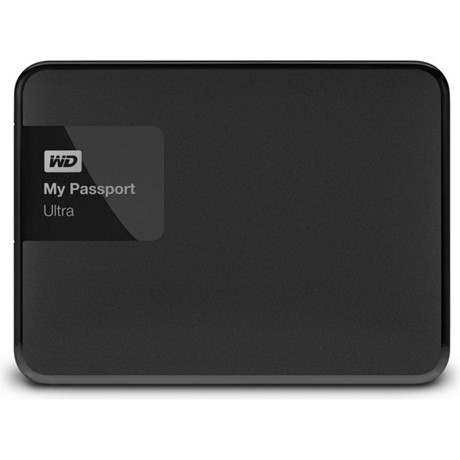 Hard disk extern WD My Passport Ultra 3TB Black USB 3.0 Hardware Encryption