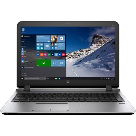 "Laptop HP ProBook 450 G3, 15.6"" LED HD Anti-Glare, Intel Core i5-6200U, RAM 8GB DDR4, HDD 1TB 5400rpm, Free DOS, Dark Ash"