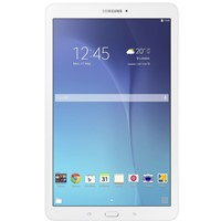 "Tableta Samsung Galaxy Tab E T561Quad-Core 1.3 GHz, 9.6"", 1.5GB RAM, 8GB, Wi-Fi, 3G, Bluetooth v4.0, Android Kitkat, White"