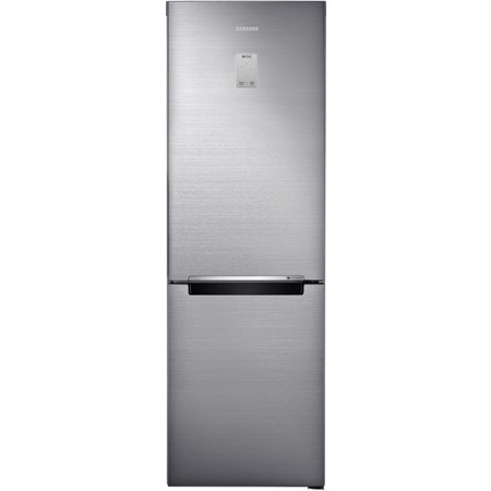 Combina frigorifica Samsung RB33N340NSA, 315l, Clasa A+++, No Frost, Power Freeze, Inverter, Display, H 185cm, Metal Graphite