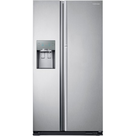 Frigider side by side Samsung RH56J6917SL, No Frost, A+, 555 l, Multi Flow, Twin Cooling +, Digital LED, Inox