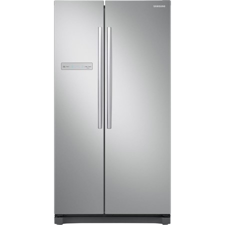 Frigider side by side Samsung RS54N3003SA, 535l, Clasa A+, Full No Frost, Display, H 178cm, Metal Graphite