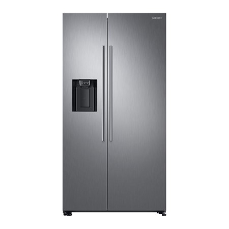 Frigider side by side Samsung RS67N8210S9, 609l, Clasa A+, Full No Frost,Twin Cooling, Compresor Digital Invertor, Display, Dispenser , H 178cm, Inox