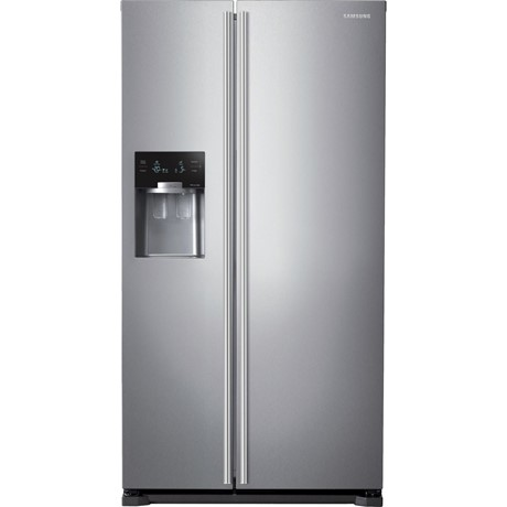 Frigider Side by Side Samsung RS7547BHCSP, 537 l, No Frost, Clasa A+, Twin Cooling, H 179 cm, Inox platină