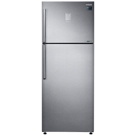 Frigider cu 2 usi Samsung RT43K6335SL, 440 L, No Frost, Compartiment Fresh, Ice Maker Twist, Compresor Digital Inverter, Display extern, H 178.5 cm, Clasa energetica A++, Easy Clean Steel