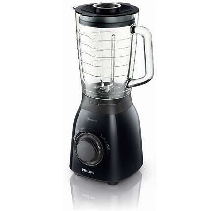 Blender de masa Philips Daily Collection HR2173/90, 600 W, 1.5 l, Variospeed, Negru