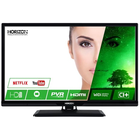 Televizor LED Smart Horizon X-TEND 24HL7130H, 61 cm, HD, 100Hz, Negru